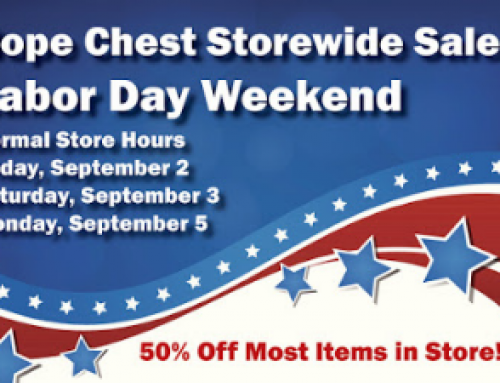 Hope Chest celebrates Labor Day with weekend sales
