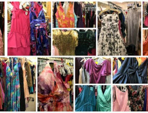 """""""Weekend of 2,000 Dresses"""" at Hope Chest Resale Store"""