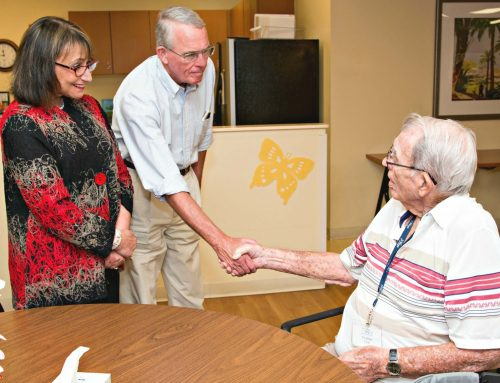 Congressman Francis Rooney visits Hope PACE and Hope Hospice