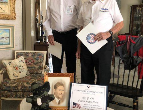 Local War Hero Honored by Hope