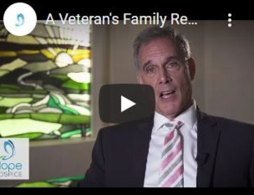 A Veteran's Family Remembers Hope Hospice Care