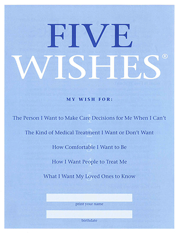 Five Wishes Cover Page