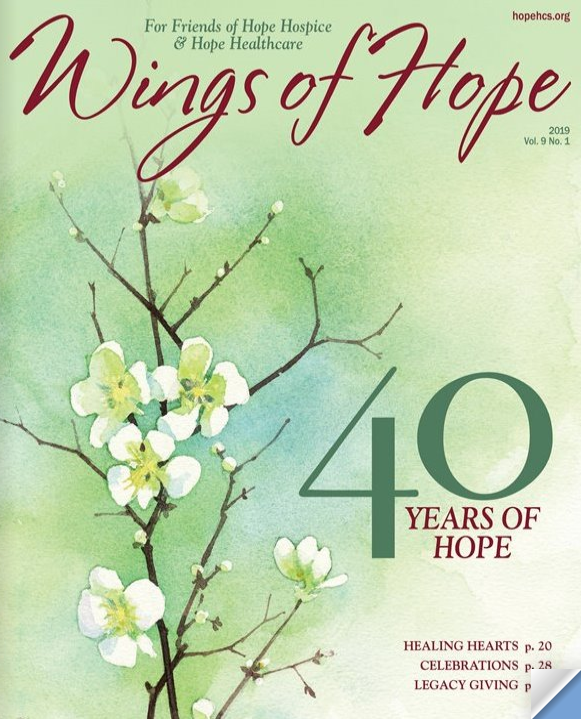 Wings of Hope magazine cover