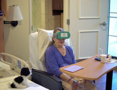 Virtual Reality at Hope Hospice