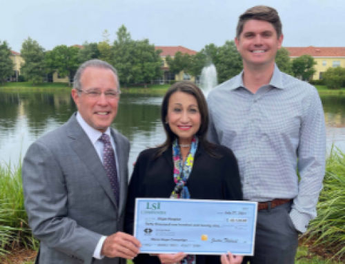 LSI Companies donates $40,000 to support More Hope